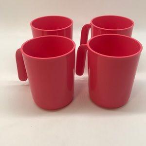 Tupperware Ilumina Mug Set of 4